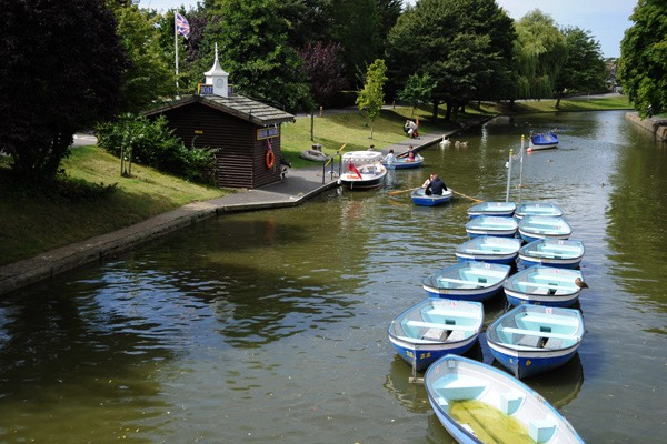 Electric Boat Trips on The Royal Military Canal